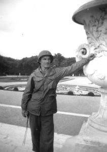 Lt. Perry Witt, in Paris