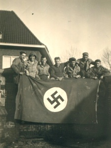 Ottea others with Nazi flag