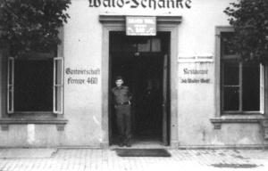 John Raisler at German pub