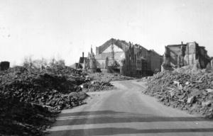 Street Scene, Munchen-Gladbach Germany, 1945